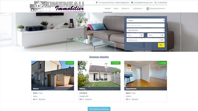 Kimeneau - Agence immobilière à Gargenville