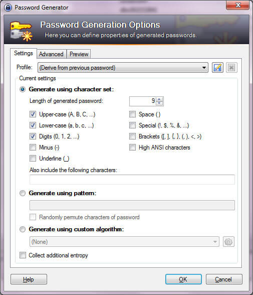 keepass-generation-mot-de-passe